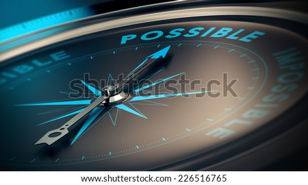 Motivational concept, achievement of goals thanks to confidence. Compass pointing the text save money, blue and beige tones.   - stock photo