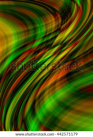 Motley background with intersecting luminous colored waves and lines  - stock photo