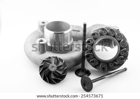 Motor car spare parts engine
