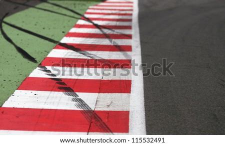 Motor Sport Race Track Edge