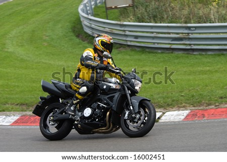 Motorcycle racing on circuit of zandvoort in the Netherlands, 9 august 2008