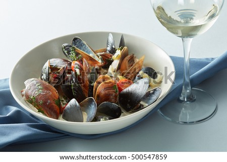 Moules marnieres mussels