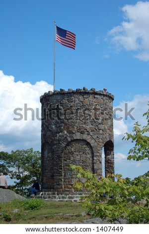 Mount Battie Tower, Maine