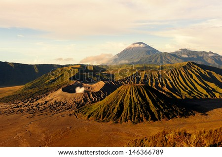 Mount Bromo Volcano - stock photo
