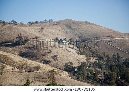 Mount Hamilton,San Jose,California at a sunny day.
