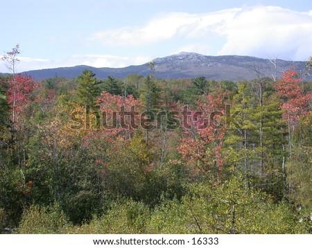 Mount Monadnock, New Hampshire - stock photo