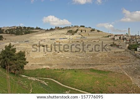 Mount of Olives - stock photo