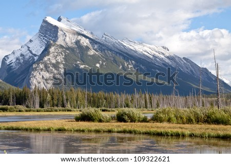 Mount Rundle in Banff
