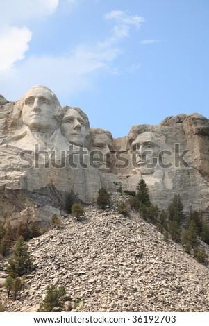 Mount Rushmore, SD - stock photo