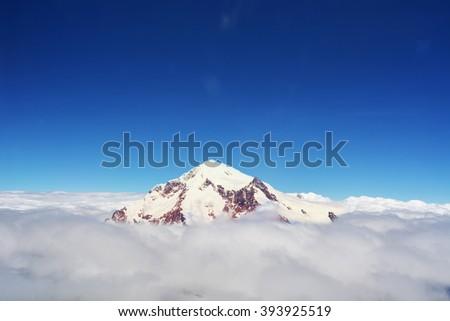 Mount   Summit  Mountains  - stock photo