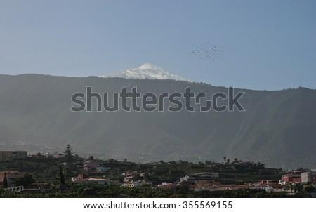 Mount Teide - stock photo