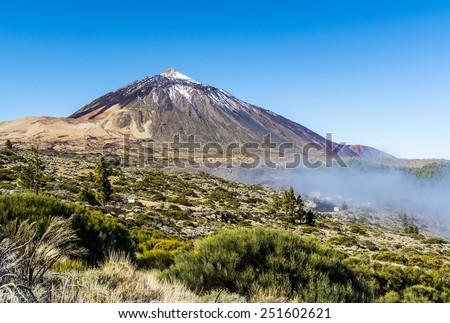 Mount Teide in Tenerife - stock photo