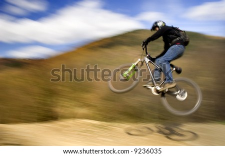 Mountain Bike - Getting Air