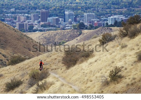 Mountain biking in Boise, Idaho