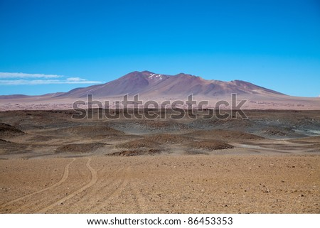Mountain Desert in the Andes