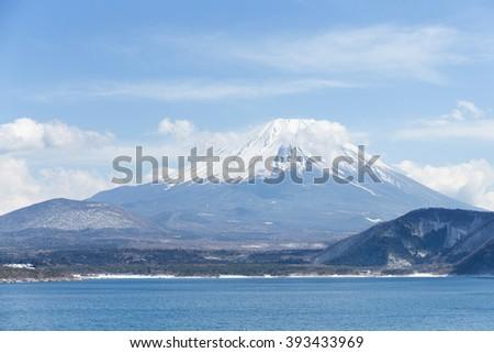 Mountain Fuji - stock photo