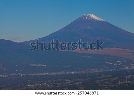 Mountain Fuji in summer season at Gotenba city