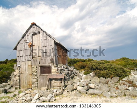 Mountain hut in Cradle Mountain - Lake St Clair National Park