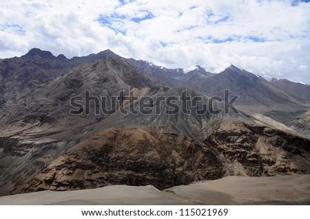 Mountain in Ladakh, India - stock photo