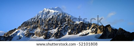 Mountain in Patagonia - stock photo