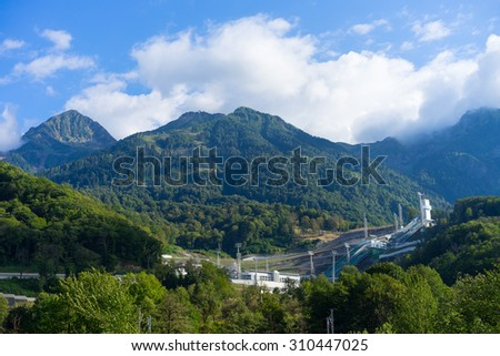 Mountain in Sochi