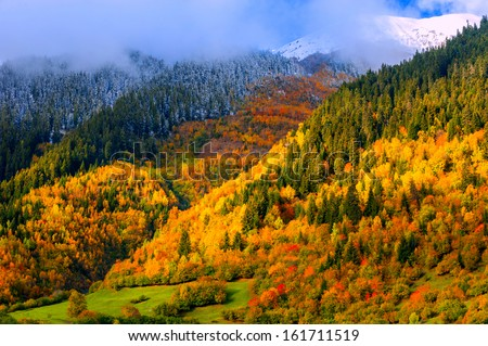 Mountain Landscapes - stock photo
