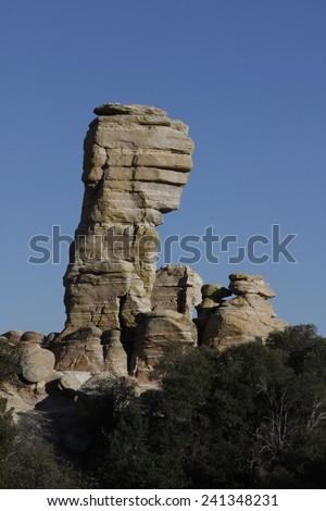 Mountain Lemmon, Arizona - stock photo