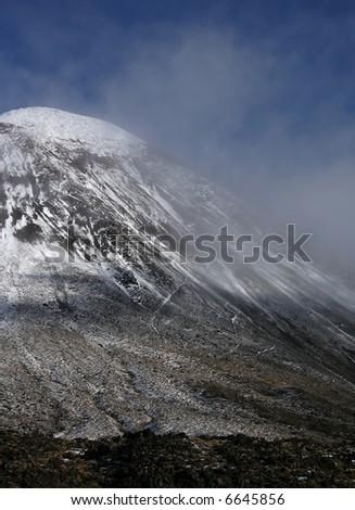 Mountain Ngauruhoe, New Zealand - stock photo
