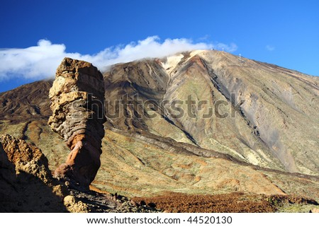 Mountain on Tenerife, Teide volcano