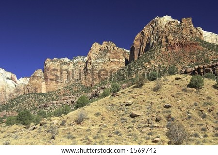 Mountain Ranges - stock photo
