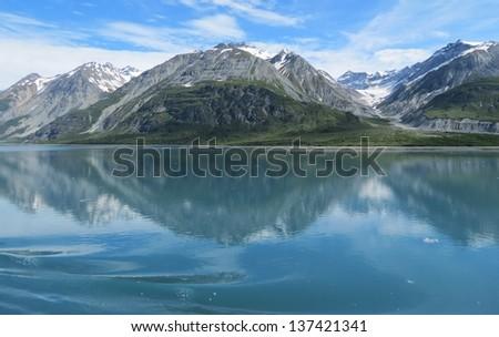 Mountain Reflections - stock photo