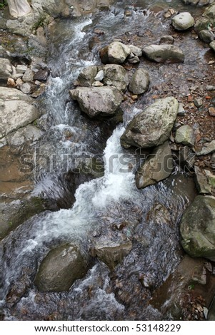 Mountain River - stock photo
