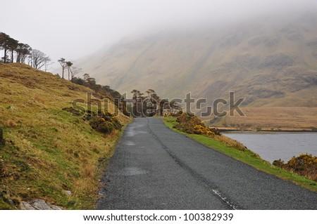 Mountain Road, Co Mayo, Ireland - stock photo