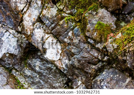 mountain stone texture - abstract natural background