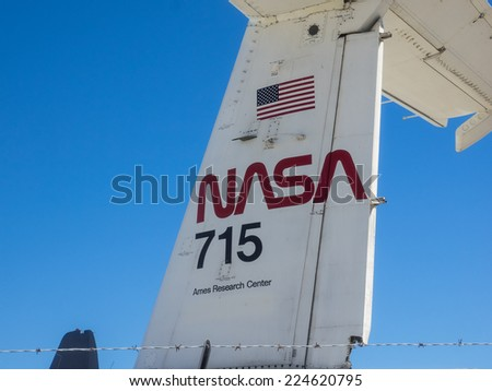 MOUNTAIN VIEW, CA/USA - OCTOBER 18: NASA's Ames Research Center celebrates 75th Anniversary with open house on October 18, 2014.