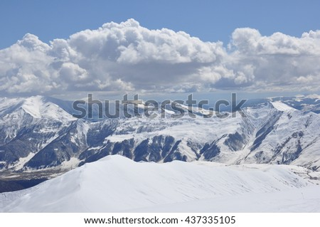 Mountaines in winter