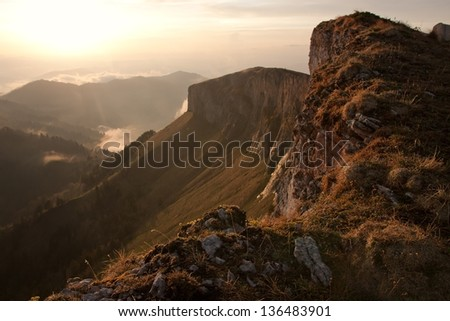 Mountains - stock photo