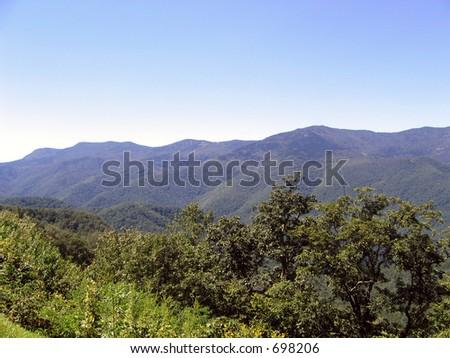 mountains - stock photo