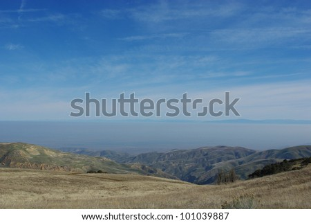 Mountains and high desert, California