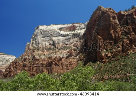 Mountains at Zion National Park, Utah