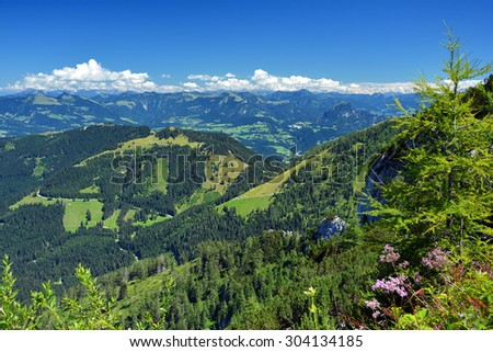 Mountains in Bavaria.Germany.