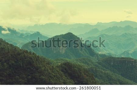 Mountains in Mexico - stock photo