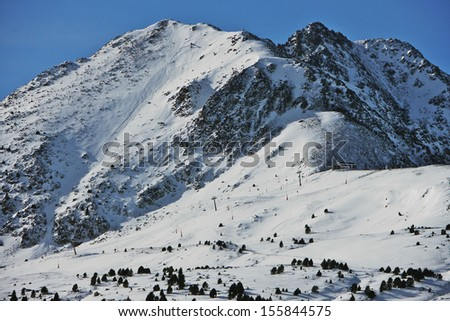 Mountains in Winter, Andorra