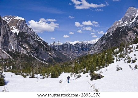 Mountains: Kalwendel-Johannestal in Austria - stock photo