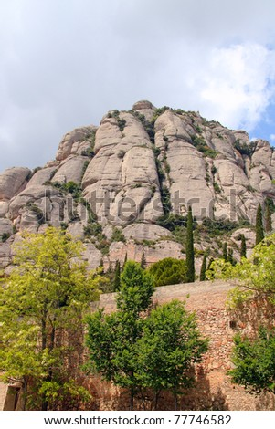 Mountains of Moserrat, Catalonia, Spain