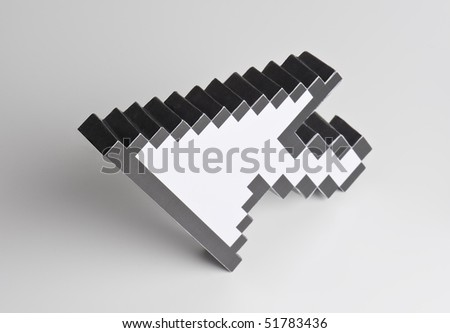 mouse cursor - stock photo