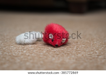 Mouse Toy - stock photo