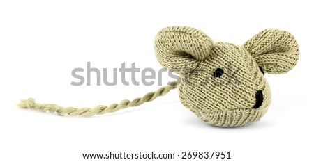 Mouse toy for cats pets - stock photo