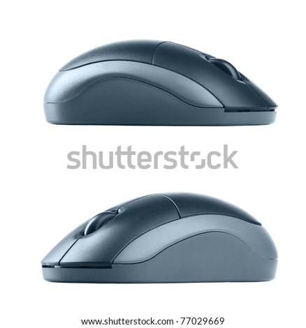 Mouse wireless - stock photo