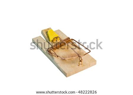 Mousetrap - stock photo